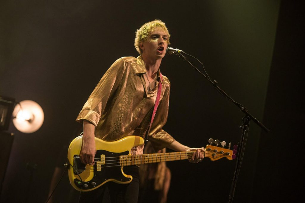 Theo from top musical turn Wolf Alice is fronting Bridgestone's Battle Of The Bands