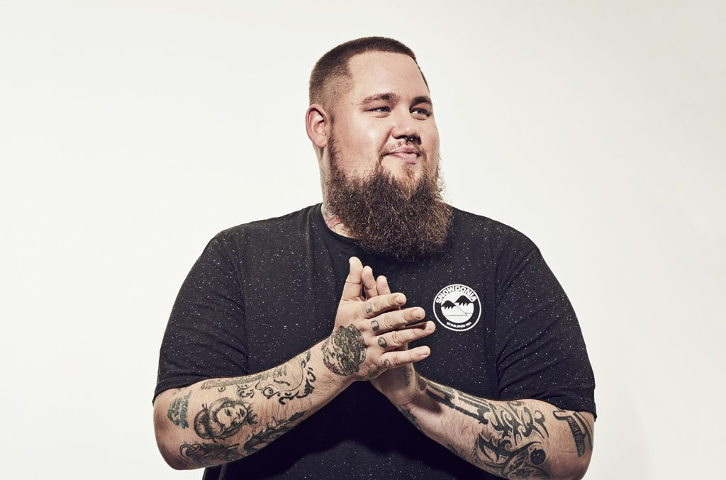 Rag'n'Bone Man: Refused our offer of a cup of tea, not that we're bitter