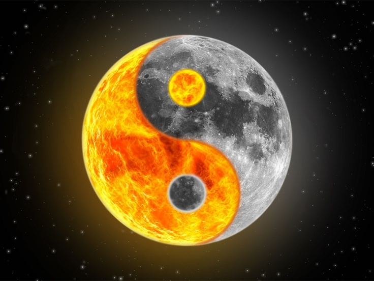 Yin and yang, sun and moon = top PR