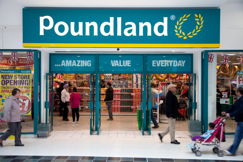 Poundland: Doing very nicely right now, thank you very much