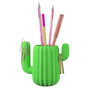 Mustard's gorgeous Cactus Pen Pot was nominated for an award at the 2017 London Stationery Show
